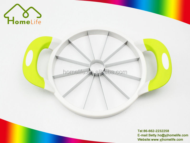Large Hand-held Wholesale Stainless Steel Watermelon Cutter Watermelon Slicer Melon Slicer