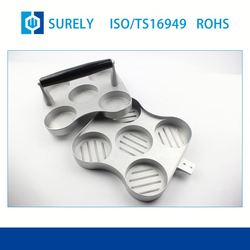 Popular Durable Machining Parts OEM Surely Aluminum Die Casting Shell For Machinery Part