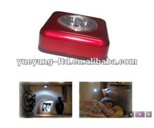 Portable peel and stick led light / 3 led touch light/stick on wall led light
