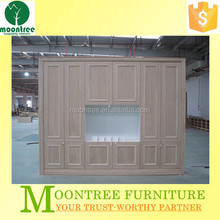 Moontree MWR-1121 china factory oak wood wardrobe for sale