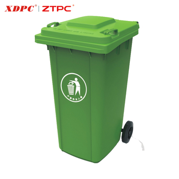 Customized Mobile Durable New Type Top Sale Outdoor 240 Liter Plastic Waste Bins