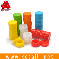 Silicone jars dab wax container weed wax container silicone wax jars