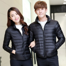 lightweight warm winter woman goose down jacket