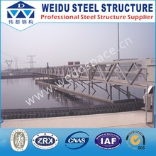 Steel strucutre Bridge for Grit Suction Sludge Suction Scraper For Sewage Treatment