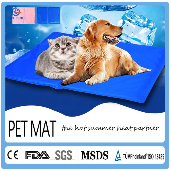 Home &Garden 2017 New Products Waterproof Cooling Cushion Gel Pad Pet Cooling Gel Pet Mat For Cat Dog