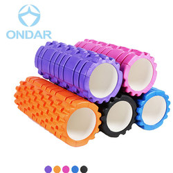 Popular High Density EVA Hollow Massage Yoga Foam Roller Set