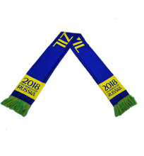 China factory Wholesale banners all countries Promotional items World Cup gift Knitted Scarf Scarves Shawls