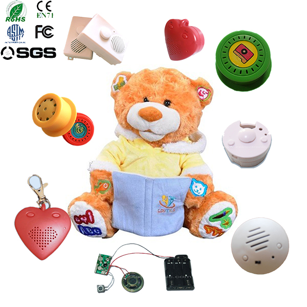 2015 Promotional mp3 bear mechanism with recording