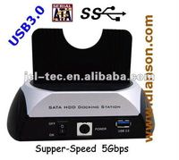 super speed 5Gbps usb 3.0 hdd docking station