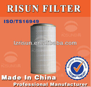 KW2139 Railway construction machinery filters air compressor filter