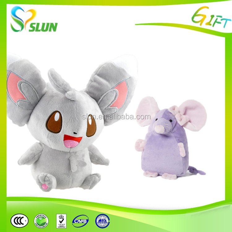 Factory custom live run Mouse stuffed rat plush toy for pet
