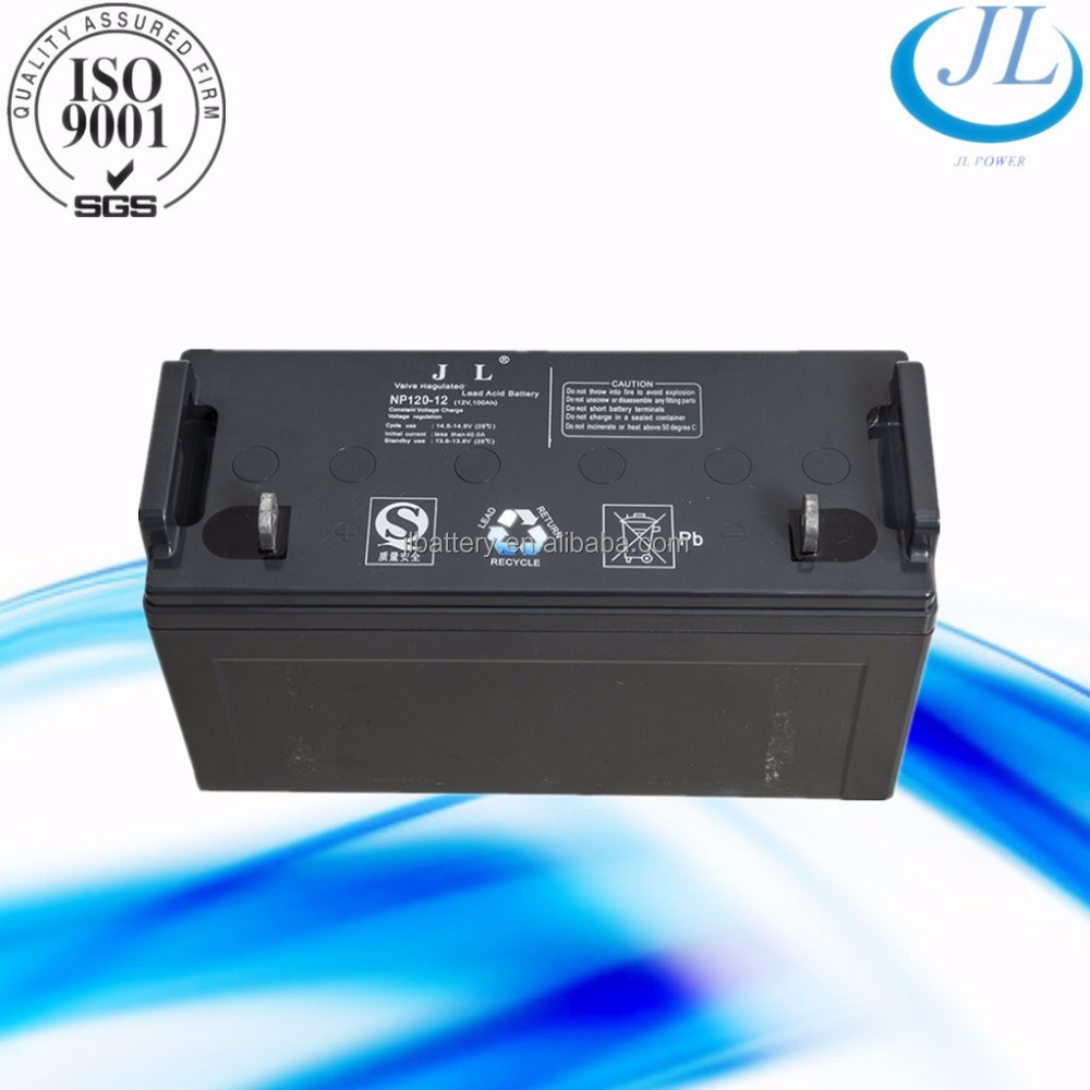 Rechargeable Deep-Cycle UPS AGM Gel Power Lead-Acid Battery 12V 120ah Gel Electric solar street light Battery