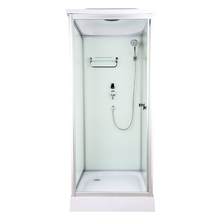 South Korea hot sale square style folding door simple shower room