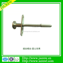 Non standard Hardware screw crib zinc- plated screw