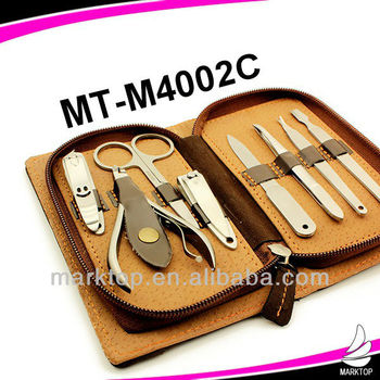 Personalized high end manicure set