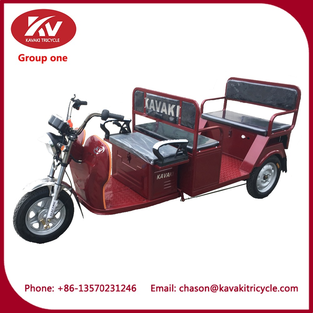 KAVAKI body type auto electric rickshaw 800W heavy duty with passenger