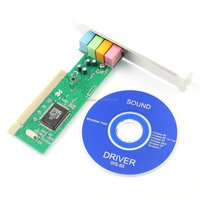CMI8738 4 Ch Channel 3D PCI Sound Card