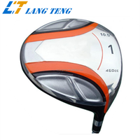 OEM Casting Titanium Alloy Golf Driver from Casting Foundry