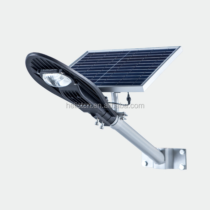 High 8w solar lamp led all in one price solar garden lights pir sensor led solar street light