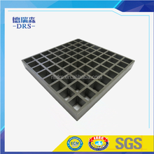 Flat surface FRP grating for building, ceiling