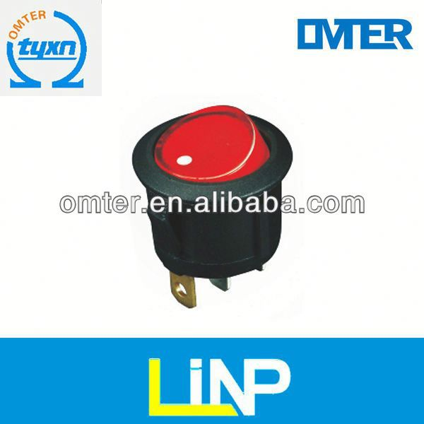 TOP Quality 4-pin dpst electric rocker 250v 6a switch