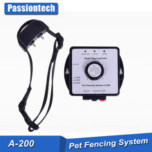 200m wire length rechargeable dog invisible fence with gift package