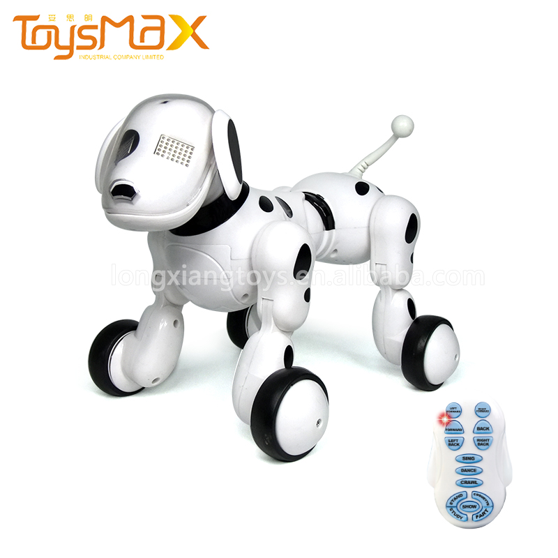 2018 Latest Intelligent Smart Funny Electric Voice Control Walking Robot Dog Toy For Wholesale
