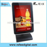 Android touch display, restaurant lcd display, network lcd 3g wifi bus advertising screen