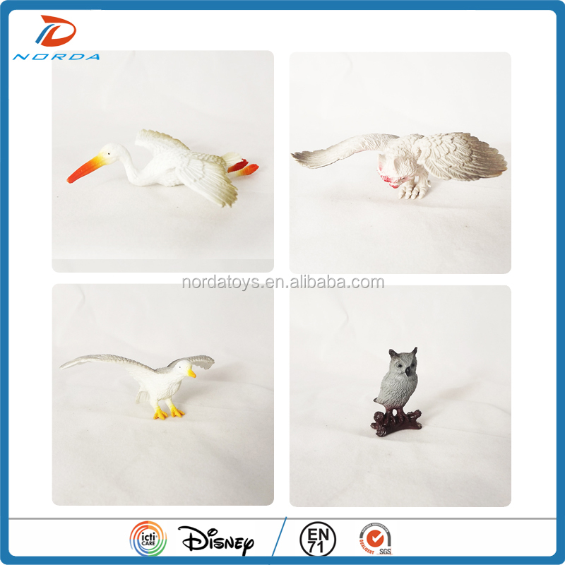 high quality plastic bird toys for kids
