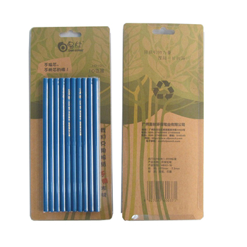 Blue color painting newspaper graphite pencils manufacturers
