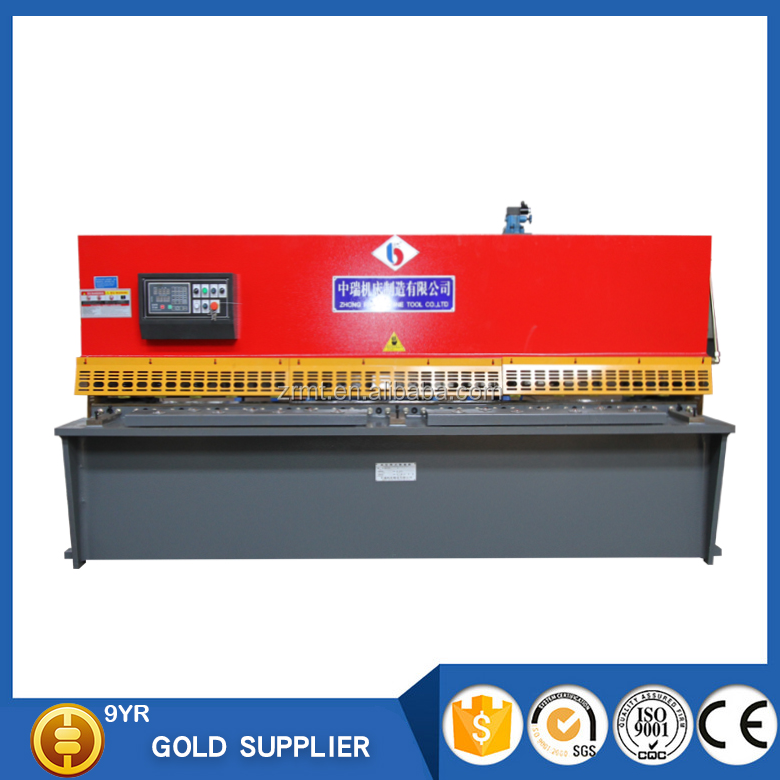 QC12Y series plate sheet metal shearing machine