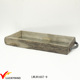 Decorative Wooden Antique Serving Tray with Handles