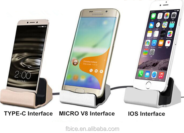iOS/Android/type-c quick Charger Dock Charge and data Sync for iPhone Samsung xiaomi