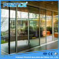Balcony vertical aluminum sliding glass door price