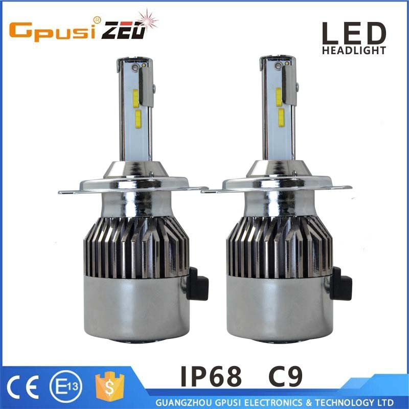 Car accessories shops H1 H3 H7 H8 H9 H11 LED auto headlight bulb for car headlamp and fog lamp