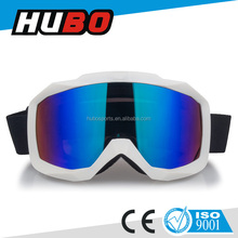 white TPU frame snow glasses hot sale fashionable glasses for skiing