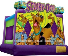 China Scooby Doo! bounce house, inflatable jump A2074