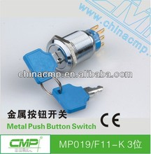 Round Key Lock Switch With TUV CE