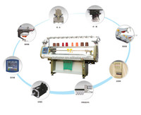 Yes computerized automatic scarf knitting machine