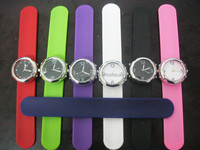 Eco-friendly cool cheap geneva new silicone watch with 3ATM waterproof