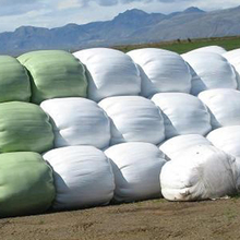 White /green silage wrap reflective film for agriculture