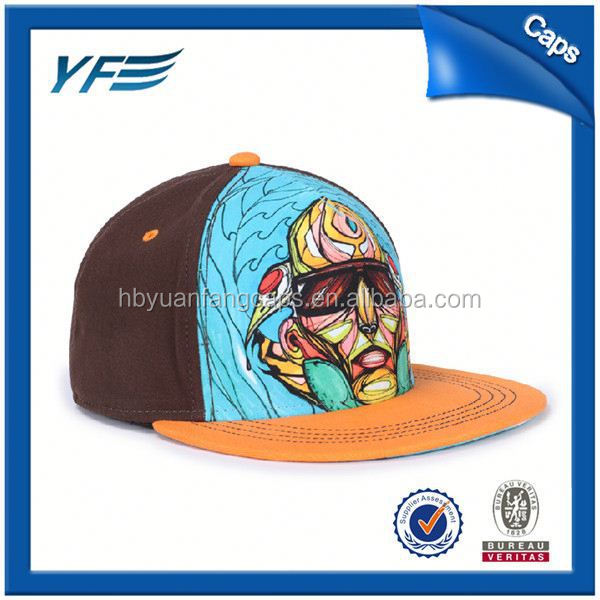 China Manufacturer Custom Snapback Fitted Cap Stretch Fitted Snapback