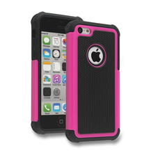 Factory Price ,For Apple Iphone 5C Triple Denfender Case With 11 Colors