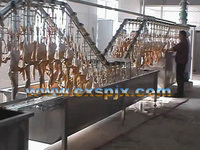 duck slaughter machine/duck plucking machine/duck wax-soaking machine