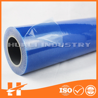 Hot Blue PE protective coating film for glass/furniture/floor
