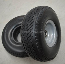 4.10/3.50-4 solid rubber garden cart wheel
