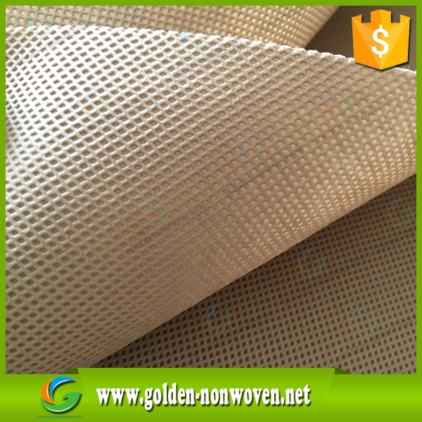 SPUN BOND PP nonwoven fabric production stock/2.4m Width and Roll plain Pattern pp non woven fabrics/polypropylene non-wovens