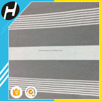 Fashionable Wholesale Cheap polyester fabric mesh,pinstripe suit striped mesh fabric