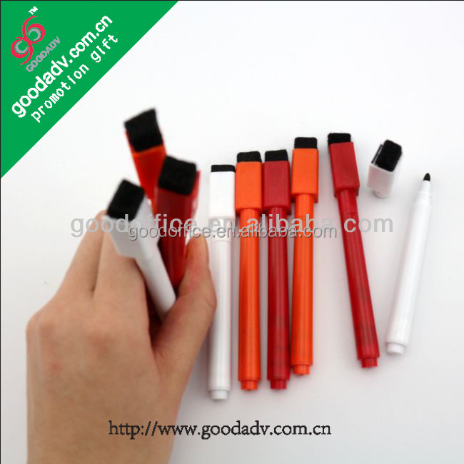 White ink dry erase marker / whiteboard marker pen / empty marker pen