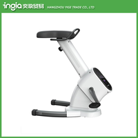 New Design Magnetic Resistance Home Use Metal-and-ABS Mini Exercise Bike